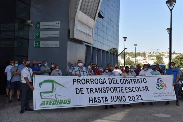 Protesta de Atedibús