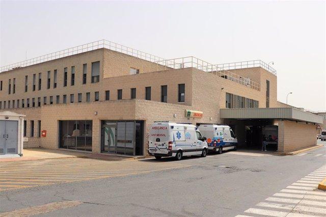 Servicio de Urgencias del hospital Juan Ramón Jiménez en una imagen de archivo.