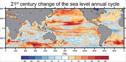 Se espera alta variabilidad en el nivel del mar por el calentamiento