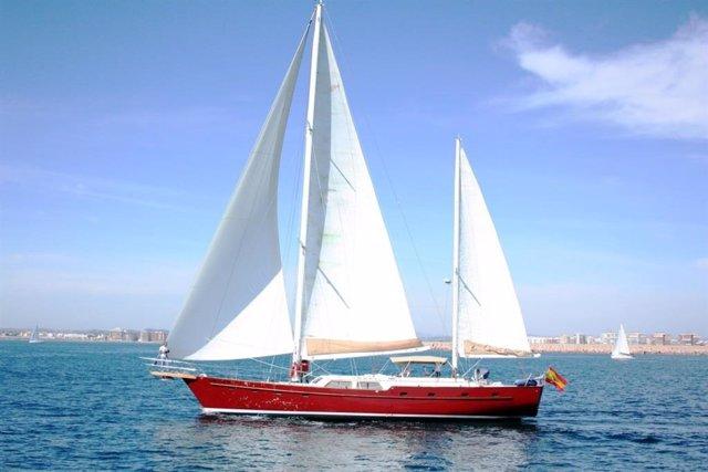 El velero Pross realizará el viaje del Elcano durante la conmemoración del V Centenario