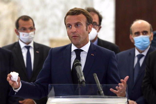 Bielorrusia.- Macron ofrece a Bielorrusia la mediación de la UE, junto a otros a