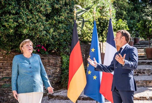 Turquía/Grecia.- Merkel y Macron piden a Turquía y Grecia resolver su disputa en