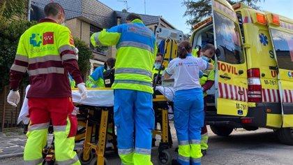 En estado crítico un varón de 57 años por una intoxicación con pintura en un accidente laboral en Alpedrete