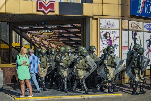 """Bielorrusia.- La ONU condena las detenciones """"masivas"""" y """"arbitrarias"""" en Bielor"""