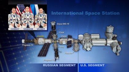 Se investiga una fuga de aire en la Estación Espacial
