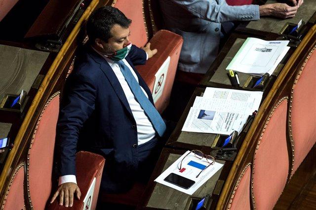 """Europa.- Salvini anuncia que denunciará al Gobierno italiano por """"favorecer la i"""
