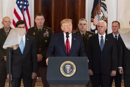 Irak.- Trump promete al primer ministro iraquí que el Ejército de EEUU abandonará el país durante los próximos tres años