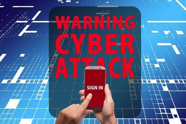 Imagen recurso ciberataque móvil