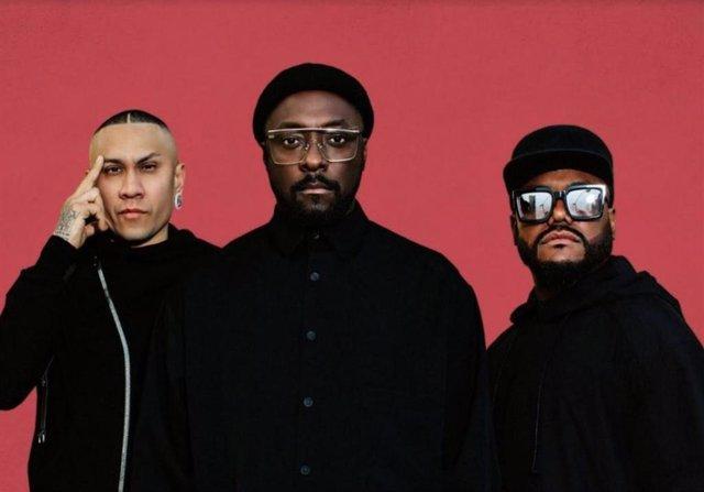 Integrantes del grupo Black Eyed Peas