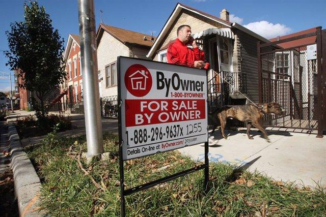 Economía.- Las ventas de casas de segunda mano en EEUU se disparan un 24,7% en j
