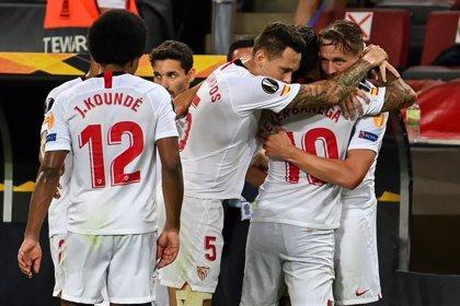 Fútbol/Liga Europa.- Crónica del Sevilla - Inter de Milán, 3-2