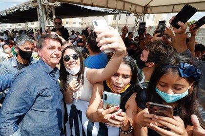 """Coronavirus.- Bolsonaro asegura que Brasil está """"volviendo a la normalidad"""" tras el coronavirus"""