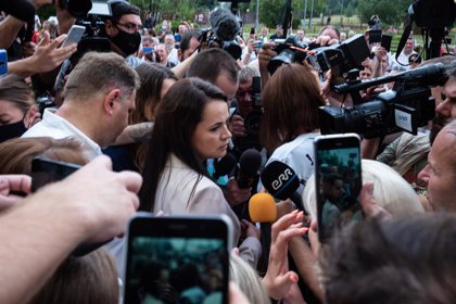 Bielorrusia.- La opositora Tijanovskaya sostiene que no se presentará a unas nuevas elecciones en Bielorrusia