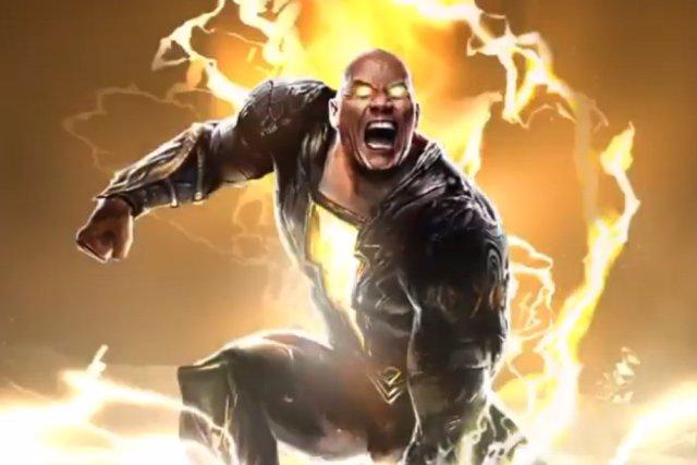 Dwayne Johnson es Black Adam