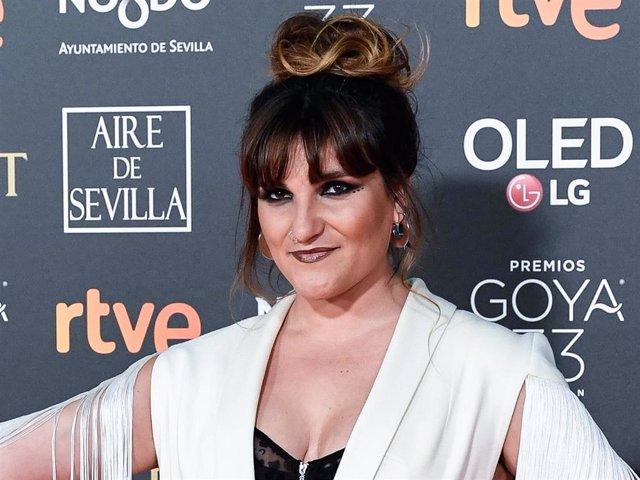Rozalen attends the Goya Cinema Awards 2019 during the 33rd edition of the Goya Cinema Awards at Palacio de Congresos y Exposiciones FIBES on February 02, 2019 in Seville, Spain.
