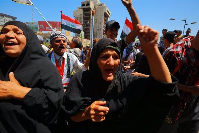 Irak.- El Gobierno iraquí impone fuertes medidas de seguridad en la provincia de