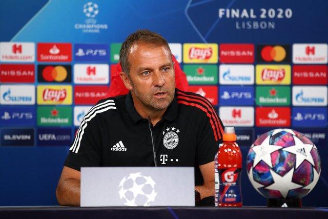 """Fútbol/Champions.- Flick: """"En los últimos diez meses hemos impuesto nuestra filo"""