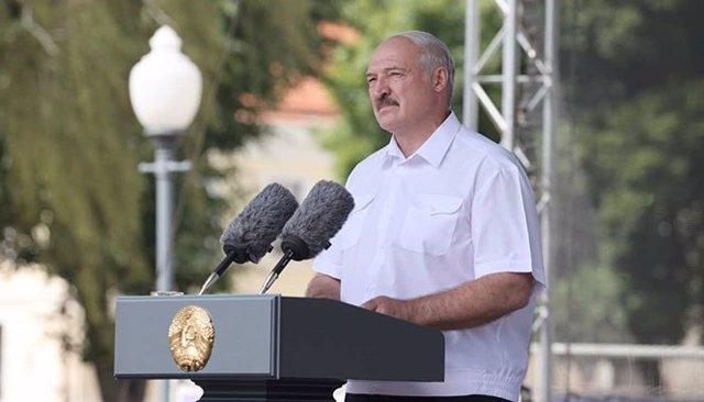 El presidente de Bielorrusia, Alexander Lukashenko