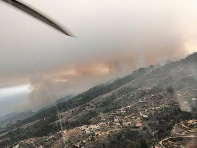 Incendio de Garafía (La Palma)