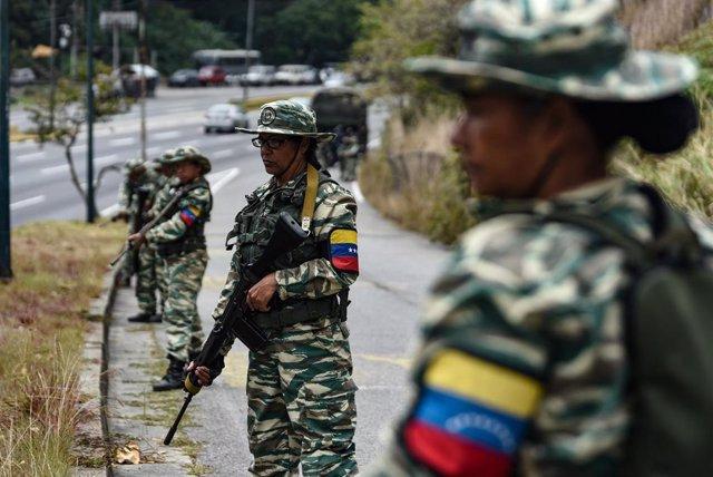Ejercicios militares en Venezuela