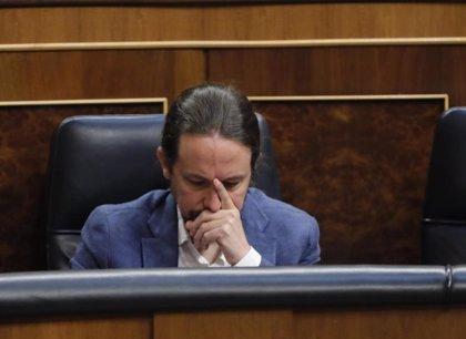 La comparecencia de Pablo Iglesias sobre las cuentas de Podemos, a votación en el Congreso