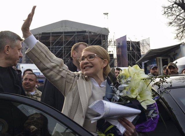 Coronavirus.- La exprimera ministra de Ucrania, en estado grave por coronavirus