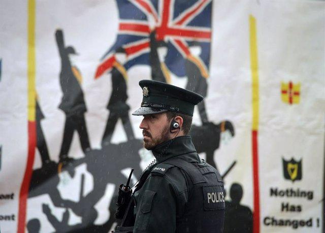 Úlster.- Imputados por terrorismo siete de los diez detenidos en una operación p