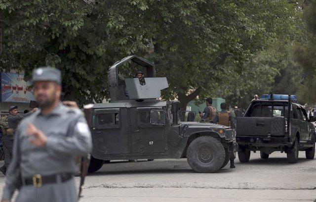 Afganistán.- Al menos diez talibán muertos y cinco heridos en un bombardeo del E