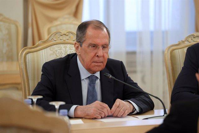 """Rusia/EEUU.- Lavrov tacha de """"irreales"""" las pretensiones de EEUU para prorrogar"""