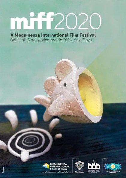 El cartel del V Festival Internacional de Cine de Mequinenza rinde homenaje a la animación