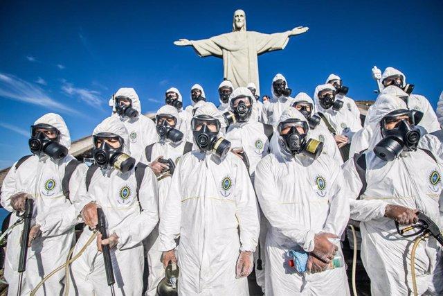 Coronavirus.- Brasil suma 500 muertos más por COVID-19 y ya cuenta con una media