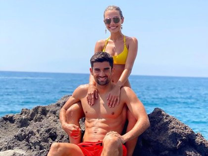 Enzo, hijo de Zinedine Zidane, se casa con la modelo Karen Gonçalves