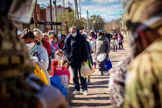 Coronavirus.- Argentina supera los 340.000 contagios tras sumar 5.300 casos más