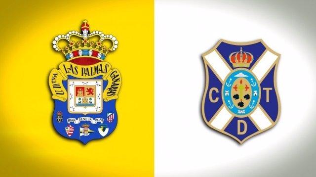 Fútbol.- Las Palmas y Tenerife acuerdan repartirse la recaudación si el derbi ca