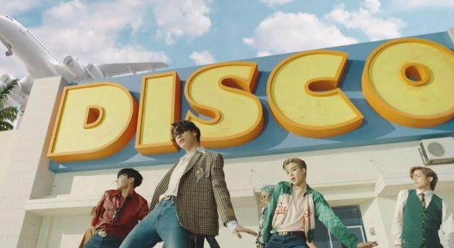 El nuevo viodeclip de BTS, Dynamite