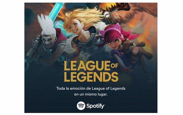 Spotify ofrecerá en exclusiva podcasts y contenidos musicales de League of Legen