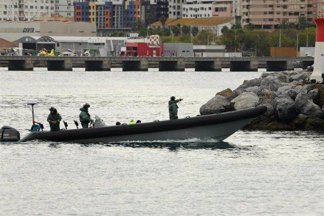 Guardia Civil de Ceuta en una imagen de archivo