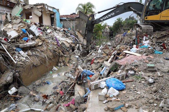 Clima.- Aumentan a 13 los fallecidos por el paso de 'Laura' por Haití y Repúblic