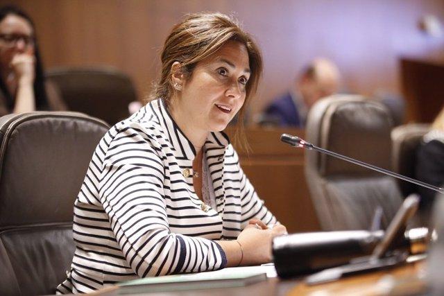 La portavoz de Cs en materia sanitaria, Susana Gaspar.