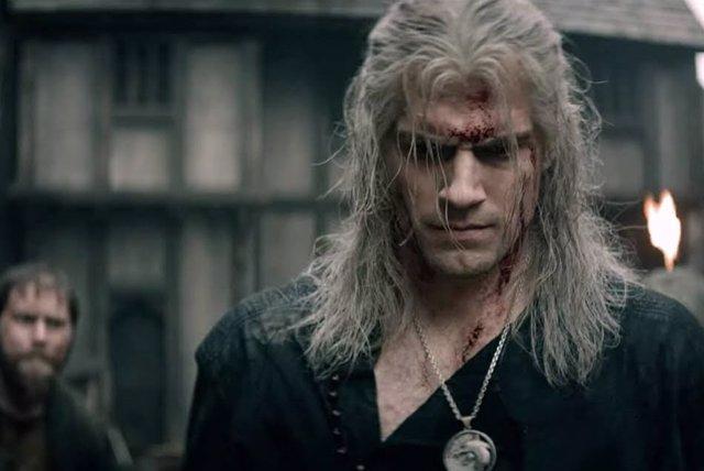 Henry Cavill como Geralt de Rivia en THe Witcher