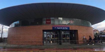 Interrumpida la circulación en L9B de Metro entre Rivas Vaciamadrid y Arganda del Rey