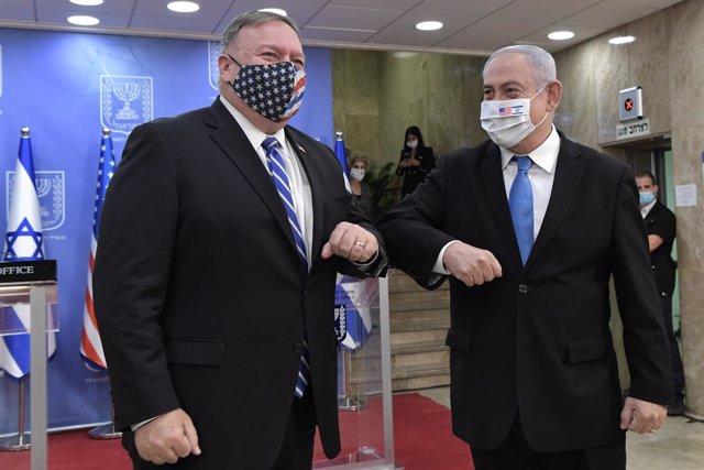 O.Próximo.- Pompeo insta a otros países árabes a reconocer a Israel tras verse c