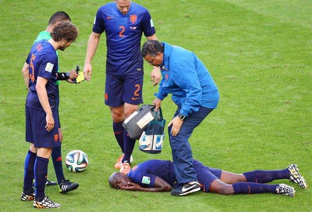 El holandés Bruno Martins se recupera de conmoción cerebral en el Mundial