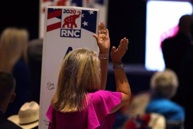 EEUU.- El Partido Republicano nomina oficialmente a Trump como candidato preside