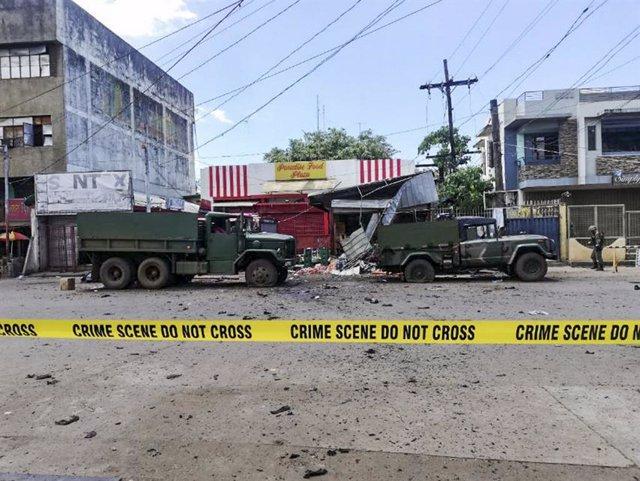 Filipinas.- Las autoridades de Filipinas sospechan que las viudas de dos terrori