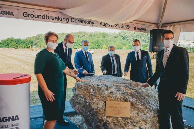 Inicio de la construcción de una nueva planta de Magna en Kechnec (Eslovaquia).