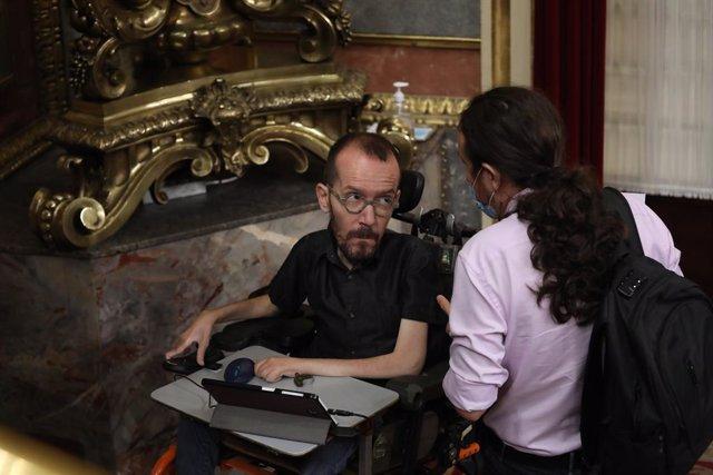 """Echenique pide acabar con la """"opacidad"""" en la Casa Real: """"En una democracia no p"""