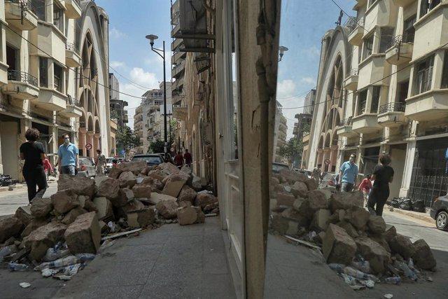"""Líbano.- Falta de alimentos y """"heridas invisibles"""" que sanar tres semanas despué"""