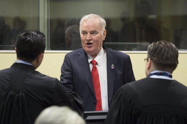 Ratko Mladic en el TPIY