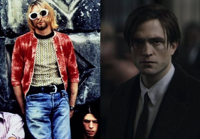 Nirvana y Robert Pattinson en el tráiler de The Batman.